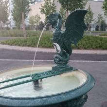 Symbolem Basileje je drak