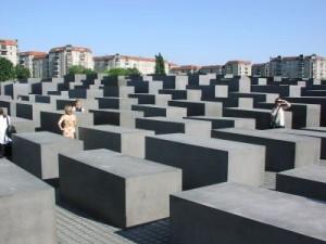 památník holocaustu v Berlíně