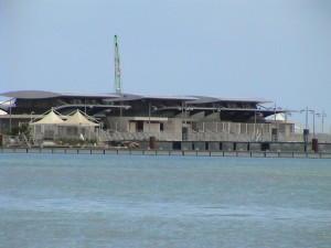 přístav katamaránů v Pointe-à-Pitre