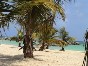 pláž v Sainte-Anne