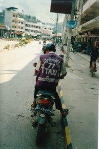 taxi v Takhilku, Barma