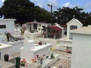 hřbitov v Sainte-Anne