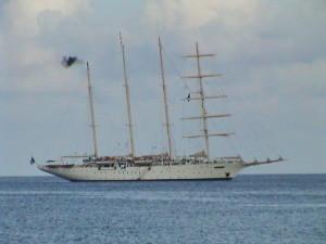 turistická atrakce v Rodney Bay
