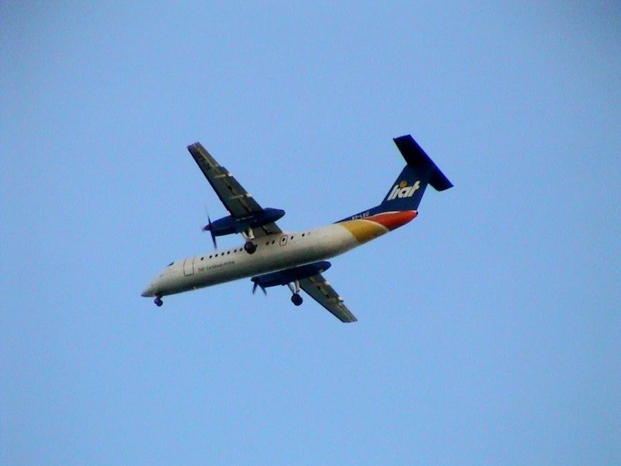 letadlo DHC společnosti LIAT