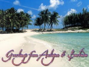 pozdrav z Antiguy a Barbudy (pohled)