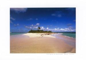 Barbuda aspoň na pohledu