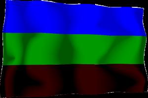 druhá vlajka Království Redonda (asi 1980 - 1997)