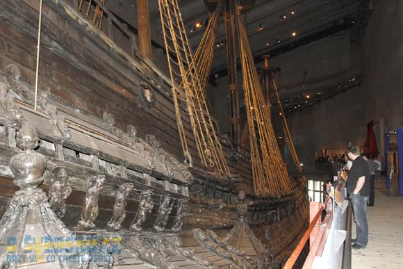Vasa Muzeum. Loď Vasa.