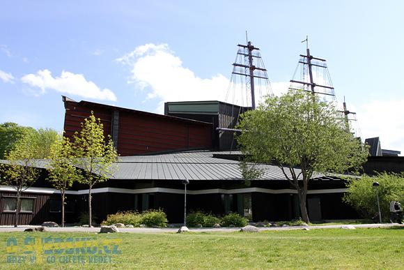 Vasa Muzeum, budova