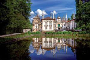 Zámek Mateusje vydařenou kombinací tradiční portugalské architektury a italského baroka
