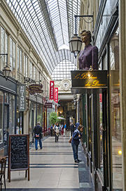 Pasáž Jouffroy na bulváru Montmartre
